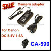 Replacement ac adapter CA-590 for Canon FS10 FS11 FS100