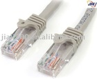 100 ft Gray Snagless Cat5e UTP Patch Cable