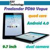 "Freelander PD80 Vogue 9.7"" 3G Samsung Exynos 4412 Quad core 2GB Ram Tablet PC"
