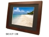 7 inch digital photo frame( wooden surface)