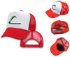 POKEMON -ASH KETCHUM CAP -EMBROIDERED- Hat NEW