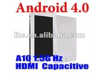 7inch Capacitive Screen android 4.0 512MB 4GB HDMI allwinner a10 tablet pc