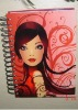 hard cover sprial notebook