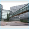 Tembered building glass