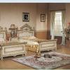 Mid-east antique style Golden color Children bedroom sets furniture FG-8811-C
