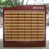 Steel newspaper mail box