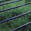 inline round dripper irrigation pipe