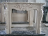 SNS-LX-DLS016B Marble Fireplace