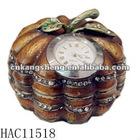 pumpkin antique clock