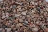 Pink tumbled pebbles