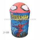 spider-man storage bins