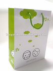 2012 stylish paper shopping bag with hand length