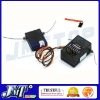 F02127 2.4G 6Ch AR6200 Receiver (With Satellite RX + Bind plug) Compatible with DX6i JR DX7 DSM2 Transmitter
