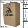 For shoe LOGO printing kraft paper shopper bag