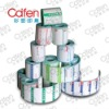 PP roll adhesive label for bottles