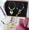 Wedding Souvenir gift Wine Glass Charm