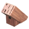 8-slot bamboo knife block