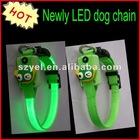 Promotional cheapest price LED light dog belt / collar