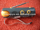 180 degree rotate led flashlight/ lamp with FM/AM radio