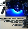 6pc blue 5050 LED FLEXIBLE LED STRIP KIT MOTORCYCLE LIGHTS