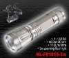 rechargeable 3W CREE LED zooming flashlight