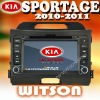 WITSON kia sportage 2011 New Car DVD