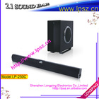 "2.1 Sound Bar with 6.5"" subwoofer"