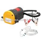 DC12V oil suction pump for car or motor boat