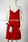 ladies' 100%cotton single jersey dress