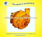 Rubber lined sand gravel Pump