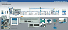 GT-PF90+40 Physical foaming coxical cable extrusion line