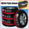 Auto spare tire cover