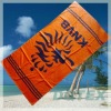 100% cotton reactive printed Netherlands beach towel