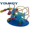 educational wooden bead toy for baby