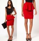 Exclusive Velvet Peplum Skirt Latest Skirt Design Pictures