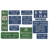 Guide signs-freeway.traffic signs