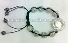 2012 New! Shamballa Watch colors beads
