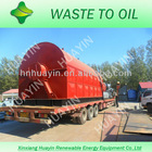 pyrolysis tyre machine for fuel oil and carbon black