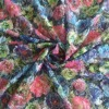 some flowers transfer printing poly lace fabric