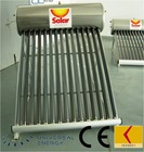 Heat pipe solar water heaters with 250L/30 tubes with two Heat-Exchanger