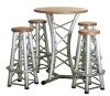 aluminum furniture bar table
