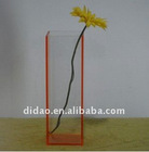 acrylic vase decoration