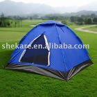 Three persons 10 SEC. camping tent with patent protection