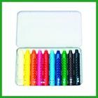10pcs crayon in tin box