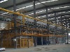 No material basket roller-type production line of aluminum heat treatment
