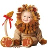 Plush Infant Lion Costume for children