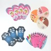 Oval shape cards,dog bone shape products
