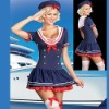 2012 sailor carnival sexy costume,party costume CT1074