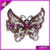 cheap colorful rhinestone butterfly shaped alloy bracelets