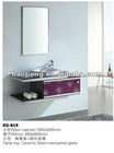 Modern design stainless steel bathroom cabinet
